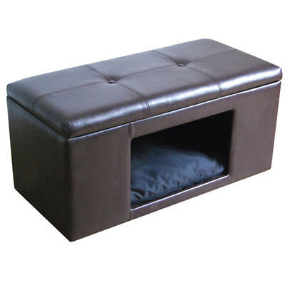 Pet Bed Bench Ottoman Dog Cat Supplies Products Accessories Home Furniture SALE
