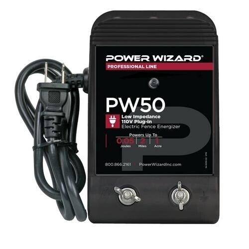 PW50 AgraTronix .05 Joule - Low Impedance Fence Energizer