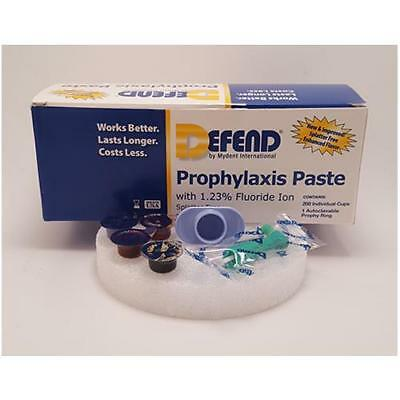 Mydent Pp1000 Defend Prophy Paste Cups With Fluoride Coarse Assorted 200bx