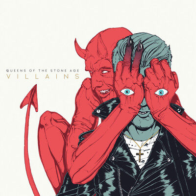 Queens Of The Stone Age   Villains  New Cd  Jewel Case Packaging