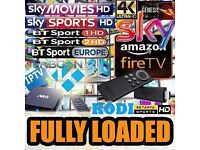 Amazon Fire Stick Fully Loaded Kodi Krypton 17.1 ✔️Sports✔️Movies✔️TV✔️Kids✔️