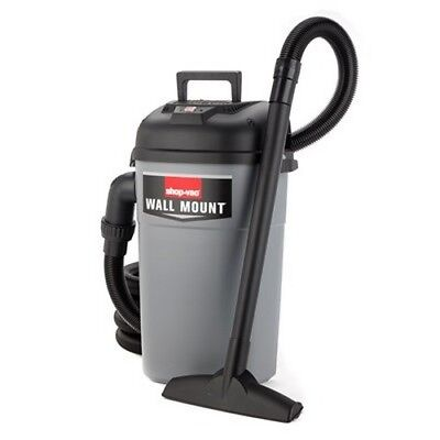 Shop-vac 3941000 Wall Mount Wet Dry Utility Vacuum 4.0 Peak Hp 5 Gallon