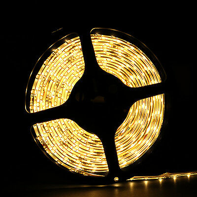 5M 16.4ft Warm White Waterproof 3528 SMD ...