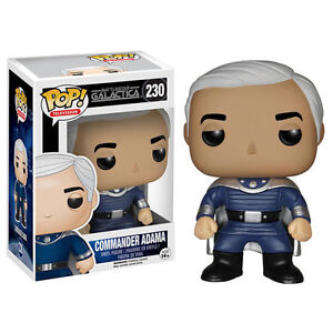 Pop Battlestar Galactica Commander Adama