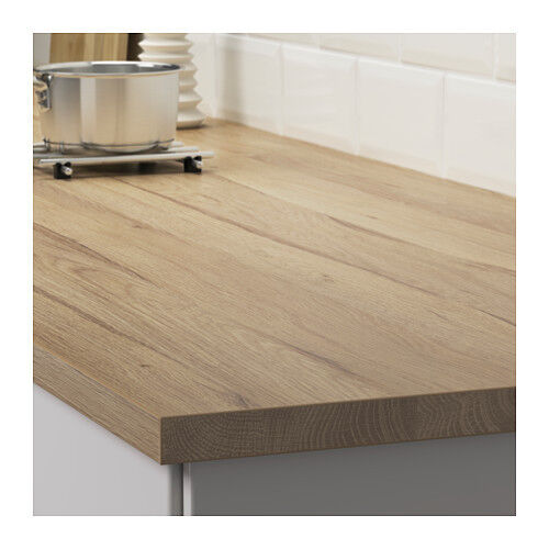 ikea ekbacken wood light oak effect laminate kitchen. Black Bedroom Furniture Sets. Home Design Ideas