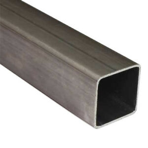 4 inch ERW Square Steel Tubing - 20 foot - complete bundle