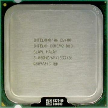 Intel Core 2 Duo E8400 socket LGA775 (Processoren)