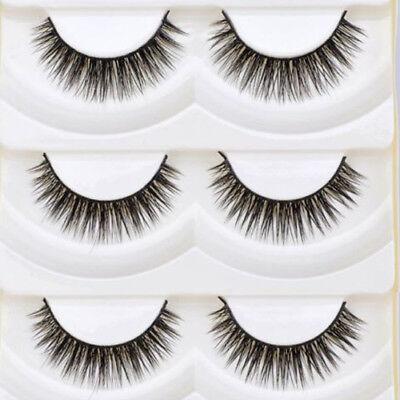 5Pairs Long Thick Cross Makeup Eye Lashes Extension Beauty False Eyelashes Cheap](Cheap Eyelashes)