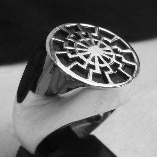 Black Sun Ring Ebay