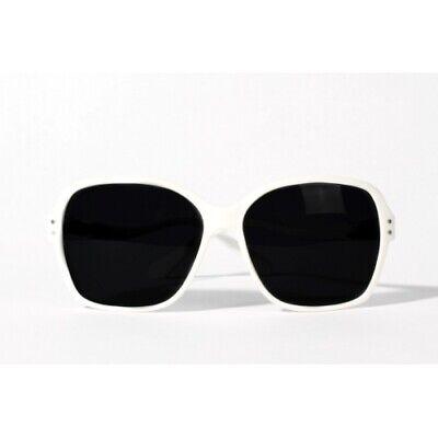 Slydz Interchangeable Eyewear White Gloss Jackie O (Jackie O Sunglasses White)