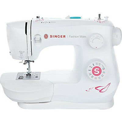 Singer 3333 Fashion Mate Free Arm 23 Stitch Sewing Machine In White   230131112