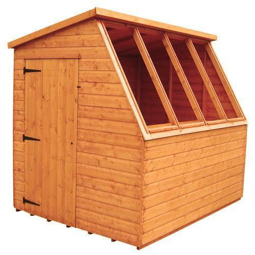 Wooden potting shed ebay for Buy potting shed