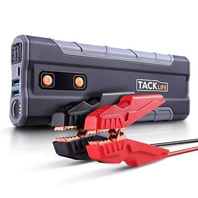 Max Batterie Jump Starter (TACKLIFE T8 MAX Auto Starthilfe - 1000A Spitze 20000mAh Jump Starter, 12V T)
