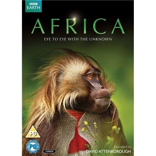 Africa David Attenborough BBC TV Series New DVD Region 4 (3 Discs)