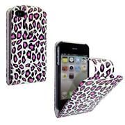 iPhone 4 Flip Case Leopard