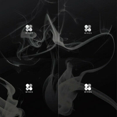 BTS-[WINGS]2nd Album Random Ver. CD+1p Card+96p PhotoBook+1p Store Gift+Tracking
