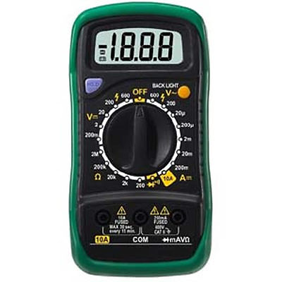 Mastech Mas830l Digital Multimeter With Back Light