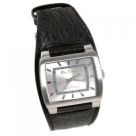 Ben Sherman Gents Watch With Silver Dial And Leather Strap - Brand New - Kilmarnock A