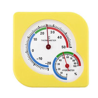 Indoor Outdoor Wet Hygrometer Humidity Thermometer Temp Temperature Meter HL