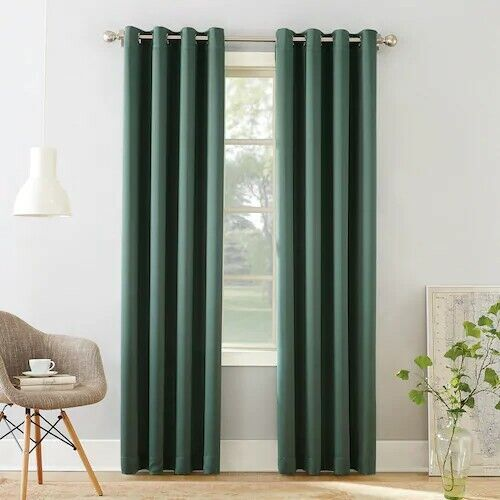 gramercy grommet room darkening curtain 1 panel