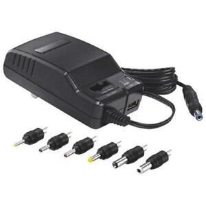 Insignia Universal AC Adapter with USB port (NS-AC1200-C)