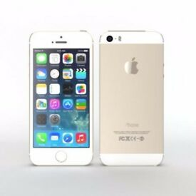 APPLE IPHONE 5S GOLD A1457 16GB NETWORK LYCA & O2 UNIT ONLY