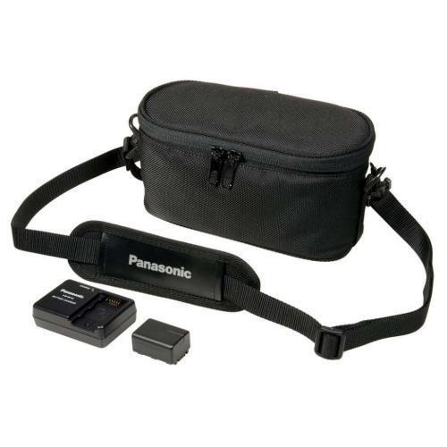 Panasonic Battery Charger Case Kit For Hc-v130 Hc-v210 Hc...