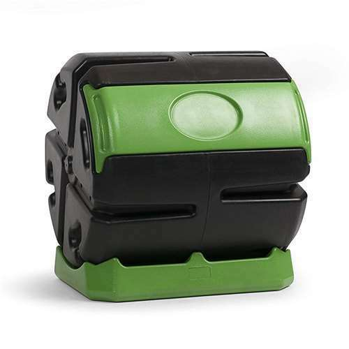 FCMP 37 Gallon Chamber Quick Curing Rolling Compost Tumbler Bin for Soil (Used)