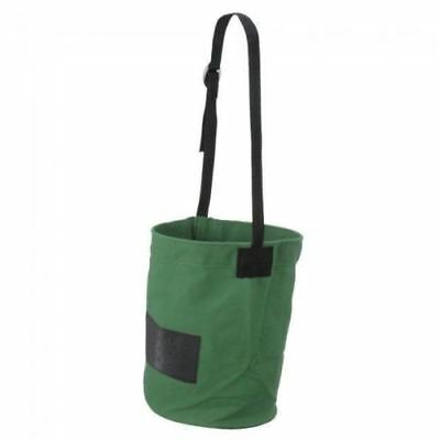Tough-1 Hunter Green Heavy Canvas Feed Bag Horse Tack Equine 72-1815