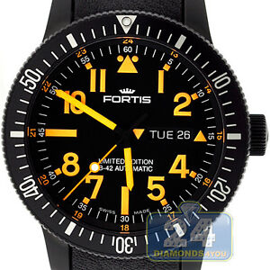 Fortis-647-28-13L-13-647-28-13-SI-19-B-42-Automatic-Black-Mars-500-Mens-Watch