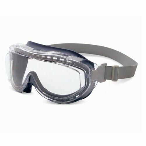 Honeywell Uvex S3400X Flex Seal Goggles Navy Body Clear Anti-Fog Lens Business & Industrial