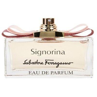 Signorina by Salvatore Ferragamo 3.4 oz EDP Perfume for Women Tester