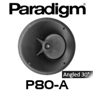 Paradigm CI Pro P80-A In Ceiling Wall Speaker - New Wacol Brisbane South West Preview