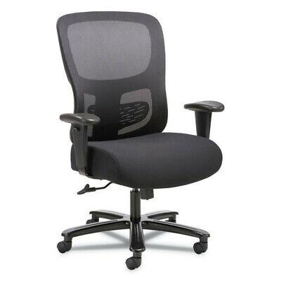 Basyx Vst141 1-fourty-one Big Tall 350 Lbs. Cap. Mesh Task Chair - Black New