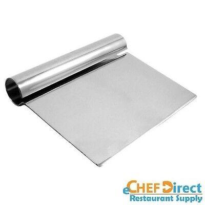 5-14 X 4-14 Dough Scraper With Round Steel Handle