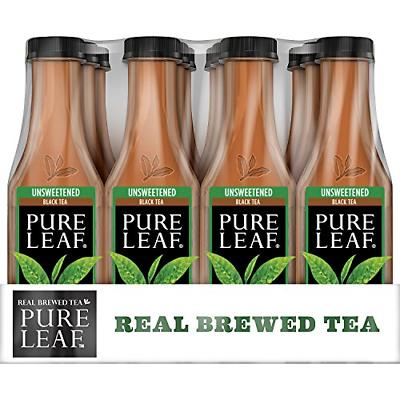 Pure Leaf Iced Tea Unsweetened Real Brewed Black Tea 0 Calor