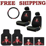 Betty Boop Seat Covers