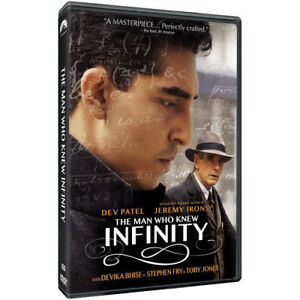 The Man Who Knew Infinity DVD