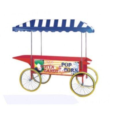 Candy Floss machine & Popcorn Machine Cart, candy floss cart, popcorn cart