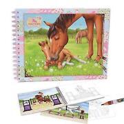 Horses Dreams Malbuch