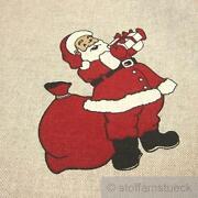 Weihnachtsmann Stoff