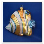 Glass Fish Christmas Ornament