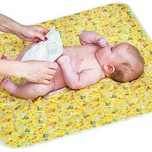 """Baby Portable Changing Pad - Diaper Change Pad Large Size (25.5""""x31.5"""") -"""