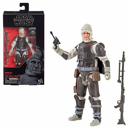 Star Wars The Black Series Dengar 6-Inch Figure In Stock!