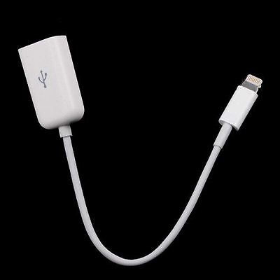 Camera Connection Kit 8-Pin OTG Lightning to USB Adapter Cable for iPad Air Mini