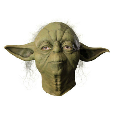 Yoda Overhead Star Wars Halloween Latex Mask - Yoda Masks