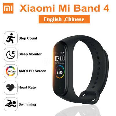 """Xiaomi MI BAND 4 Smart Braccialetto 0.95""""Color Schermo 135mAh 50M Impermeabile"""