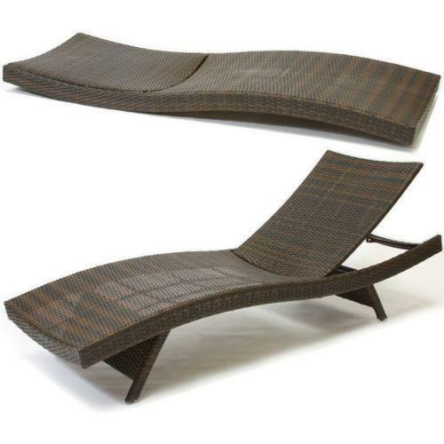 Outdoor chaise lounge ebay for Buy outdoor chaise lounge