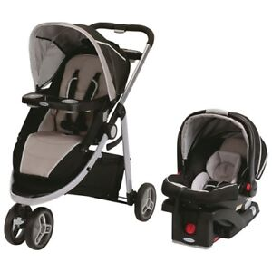 Graco Modes Sport Click Connect Travel System - Black/Beige
