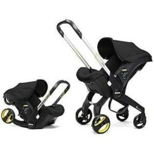 Doona Infant Car Seat to Stroller & Latch Base Nitro Black